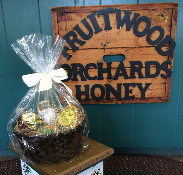 Bee Healthy Basket